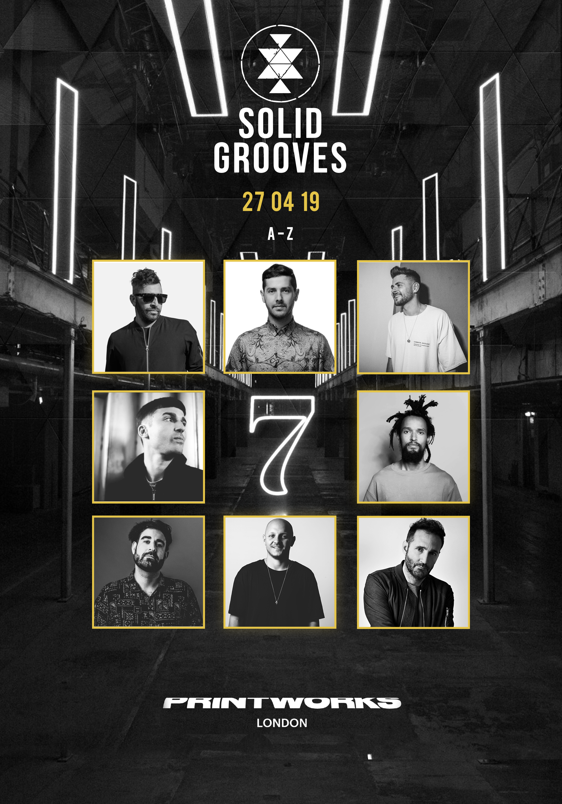 Solid Grooves Lineup