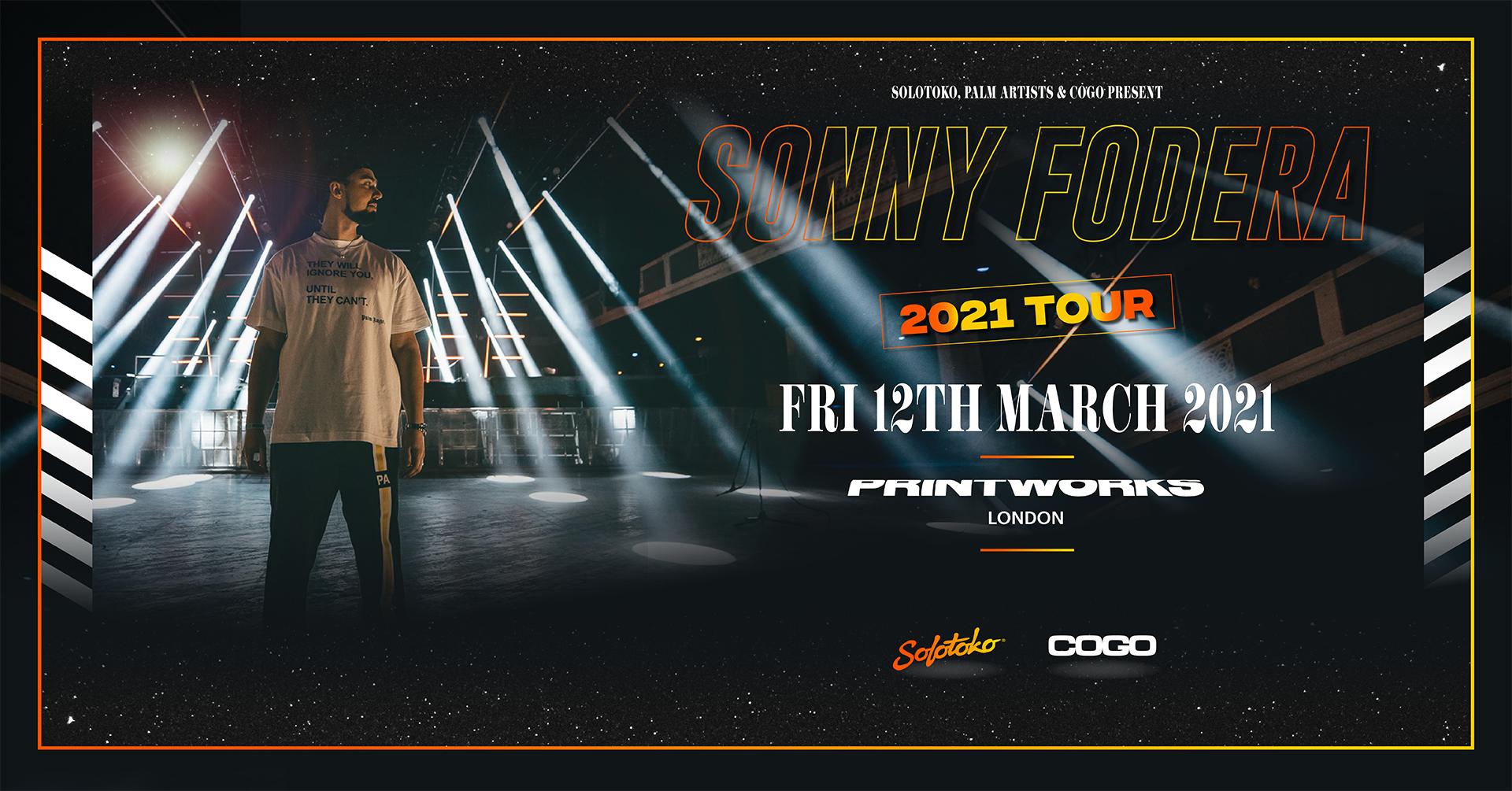 Sonny Fodera - 2021 UK Tour