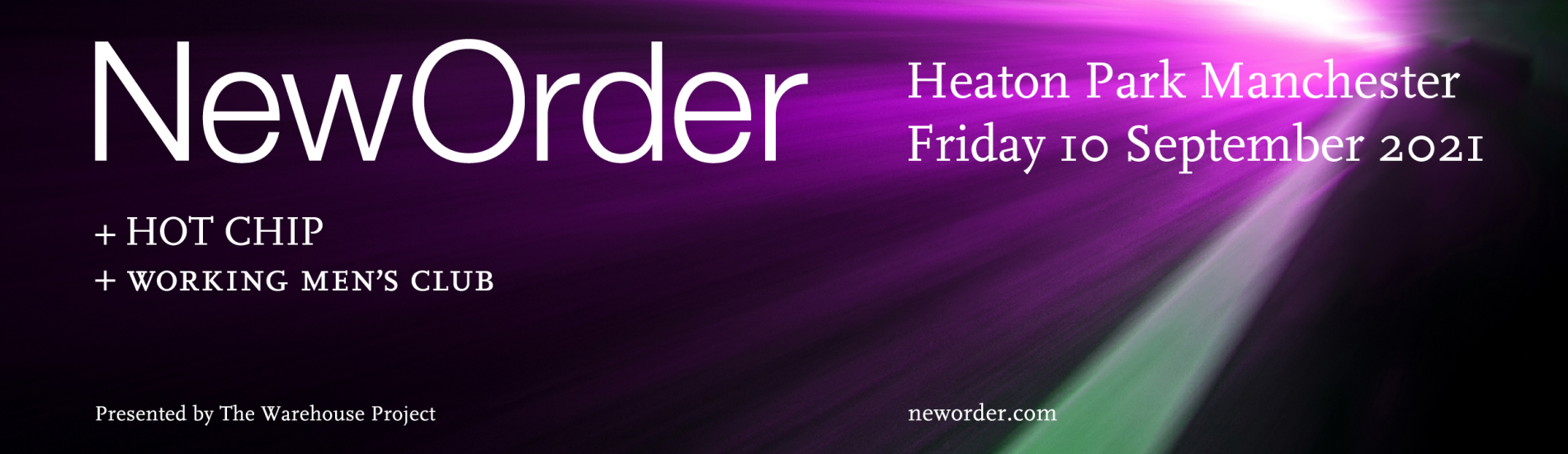 New Order at Heaton Park