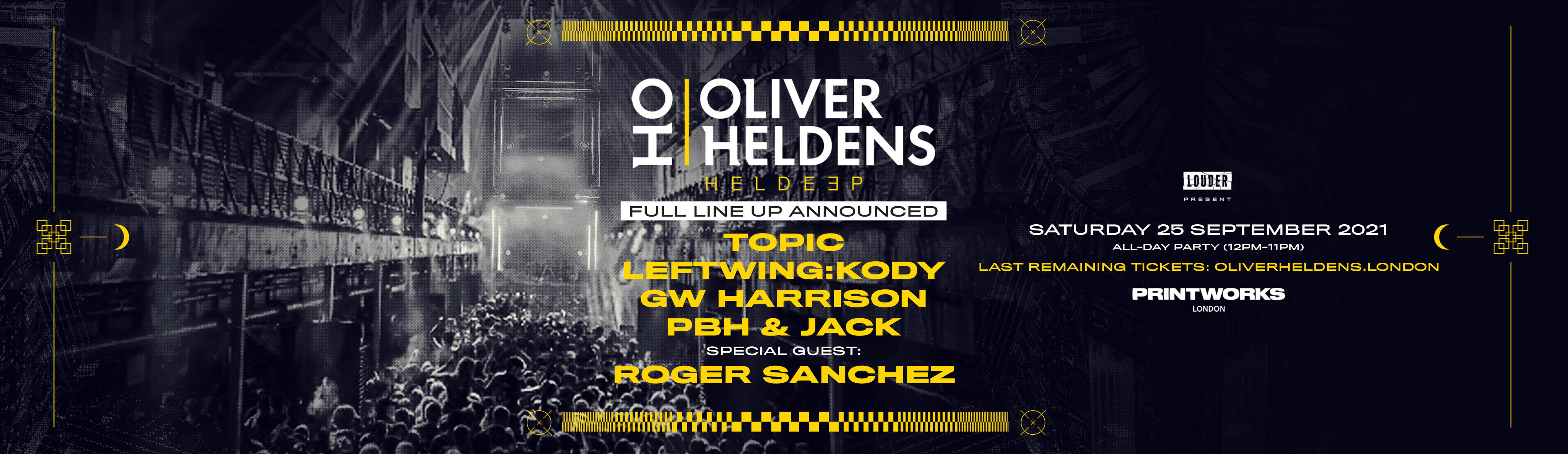 Louder present: Oliver Heldens
