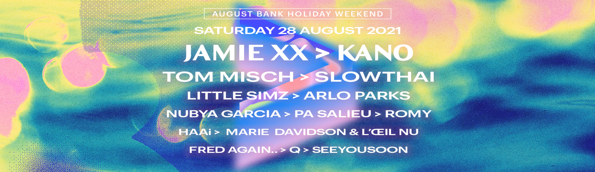 All Points East - Jamie xx and Kano