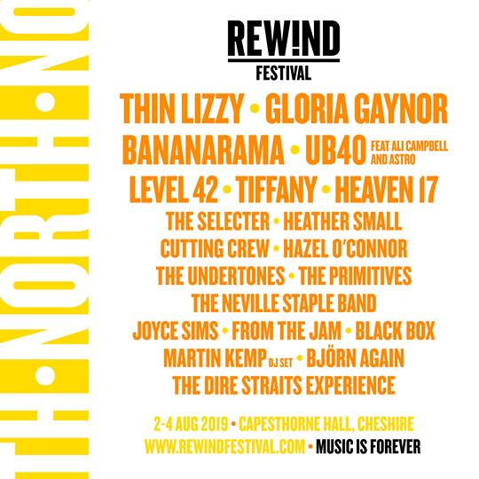 Rewind North Lineup