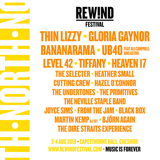 Rewind North Lineup