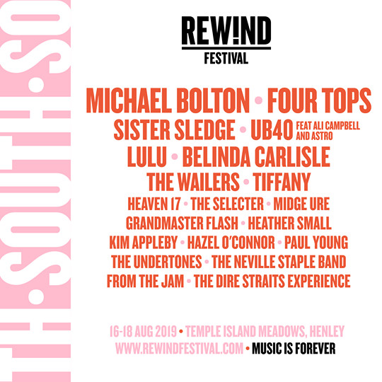Rewind South Lineup