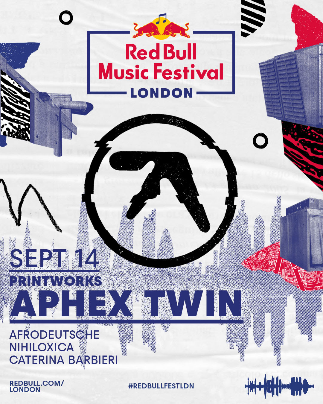 Red Bull Music Festival - London - Aphex Twin - SOLD OUT Lineup