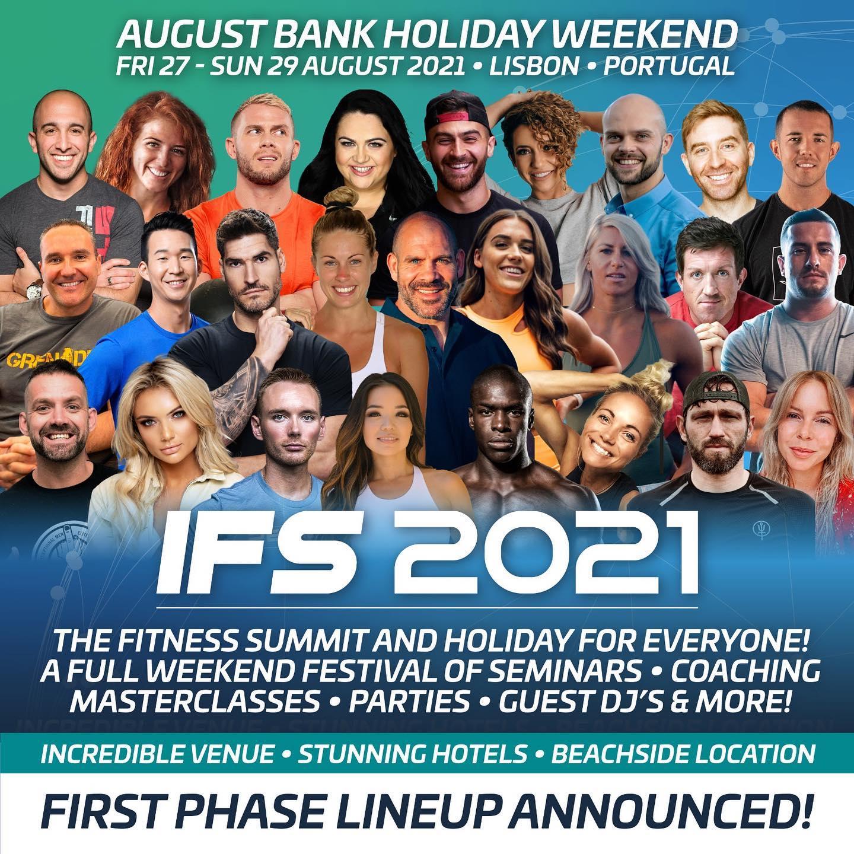 International Fitness Summit Lineup