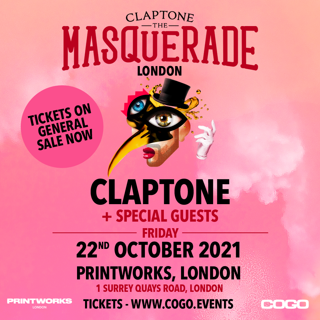 Claptone: The Masquerade London