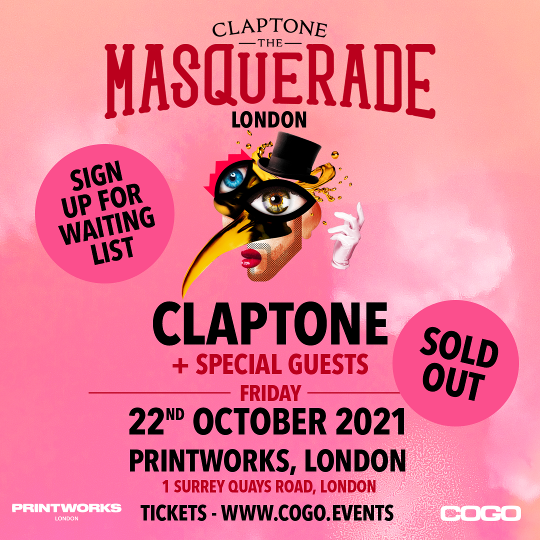 Claptone: The Masquerade London