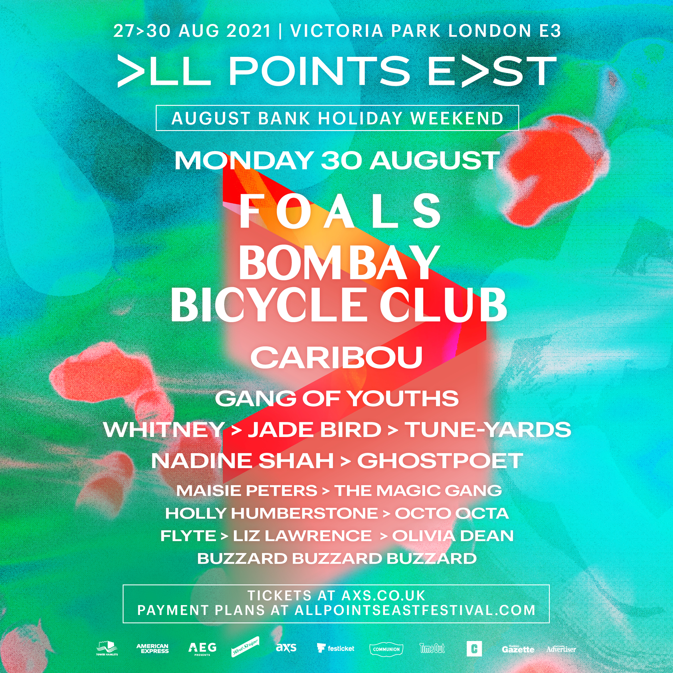 All Points East - Foals + Bombay Bicycle Club