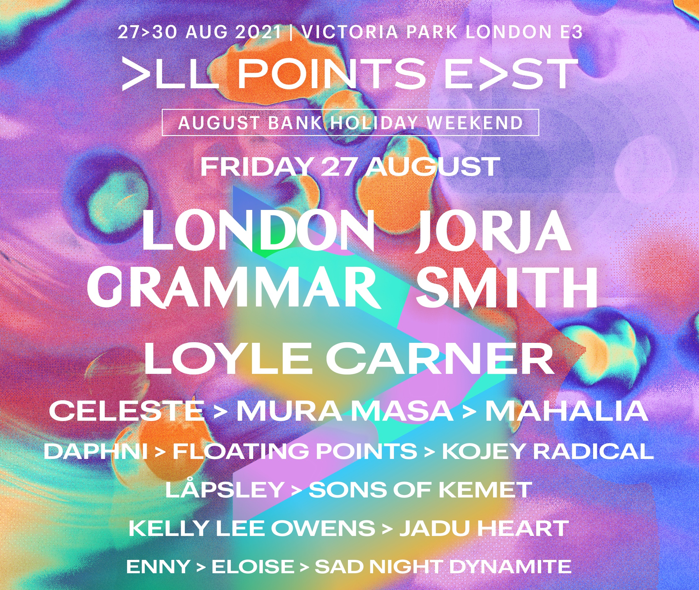 All Points East - London Grammar + Jorja Smith