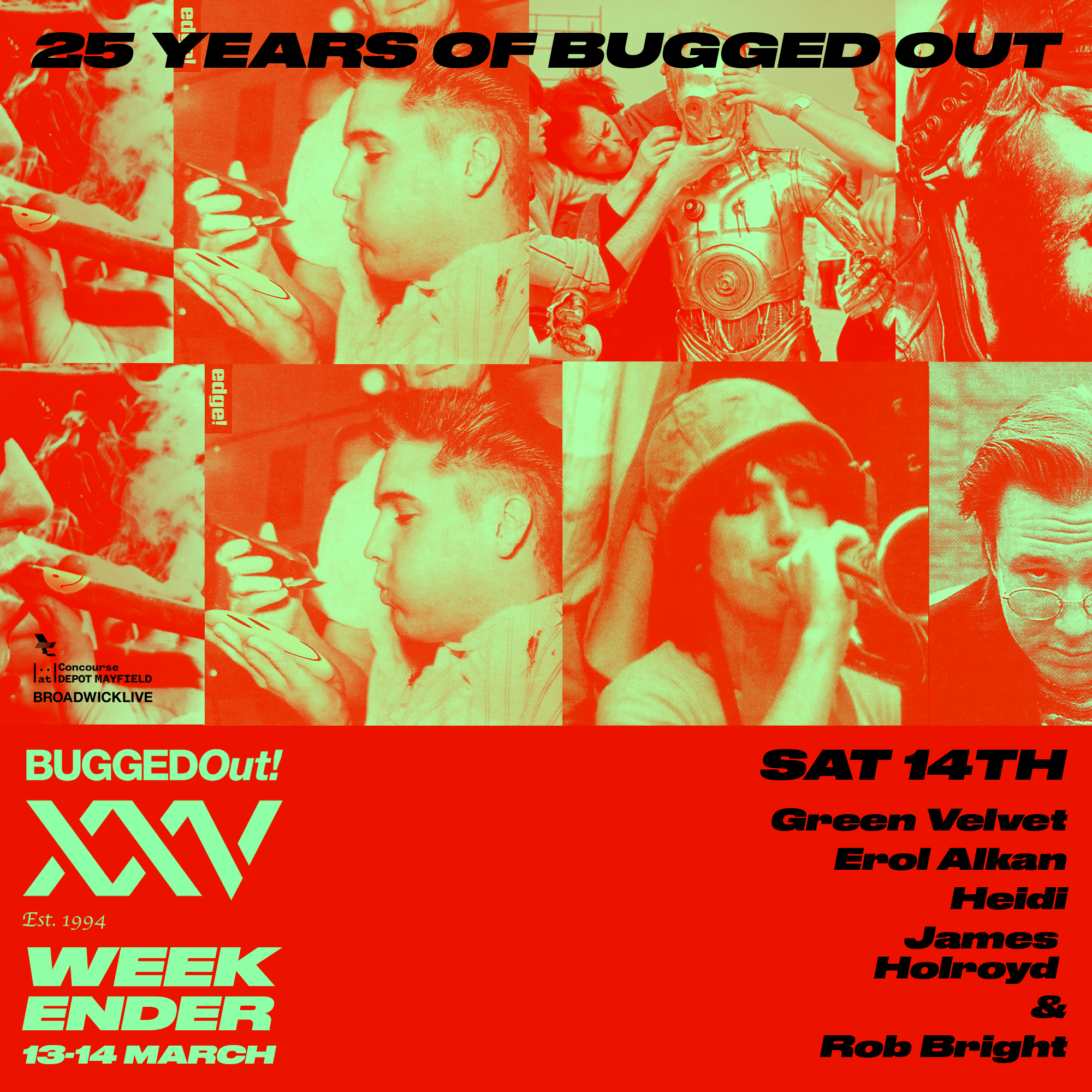 25 Years Of Bugged Out - 14th March 2020