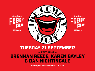 The Comedy Store at Escape to Freight Island