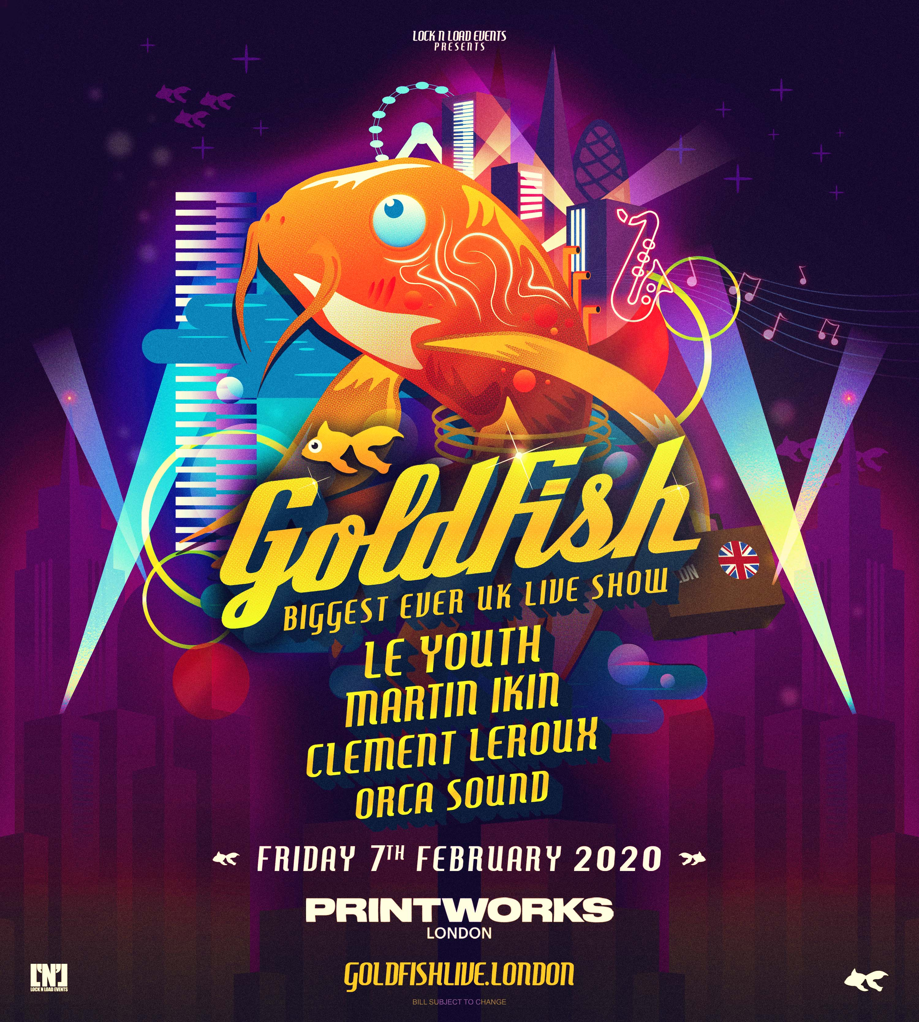 Lock 'n' Load Events Presents: Goldfish