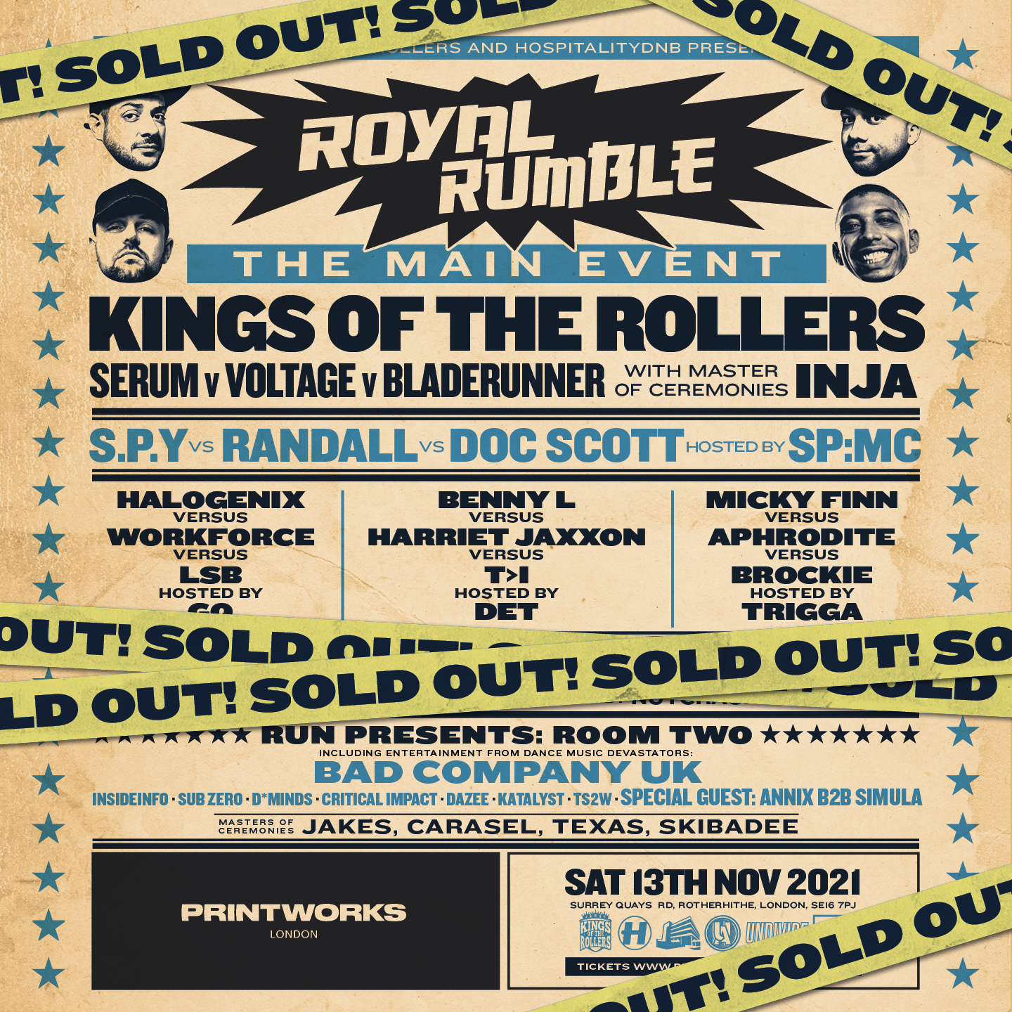 Kings Of The Rollers - Royal Rumble: The Main Event (SOLD OUT)