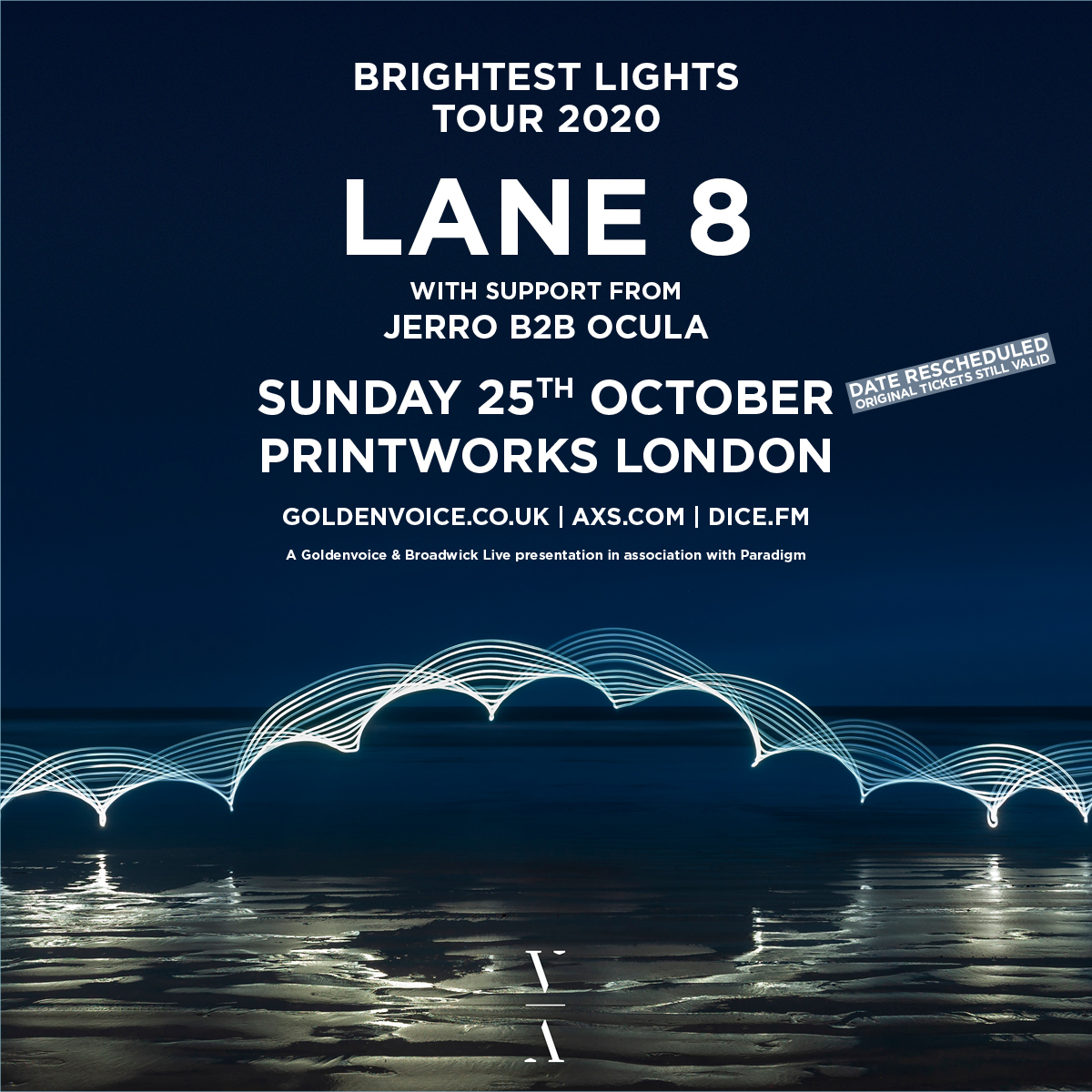 Lane 8 - Brightest Lights Tour