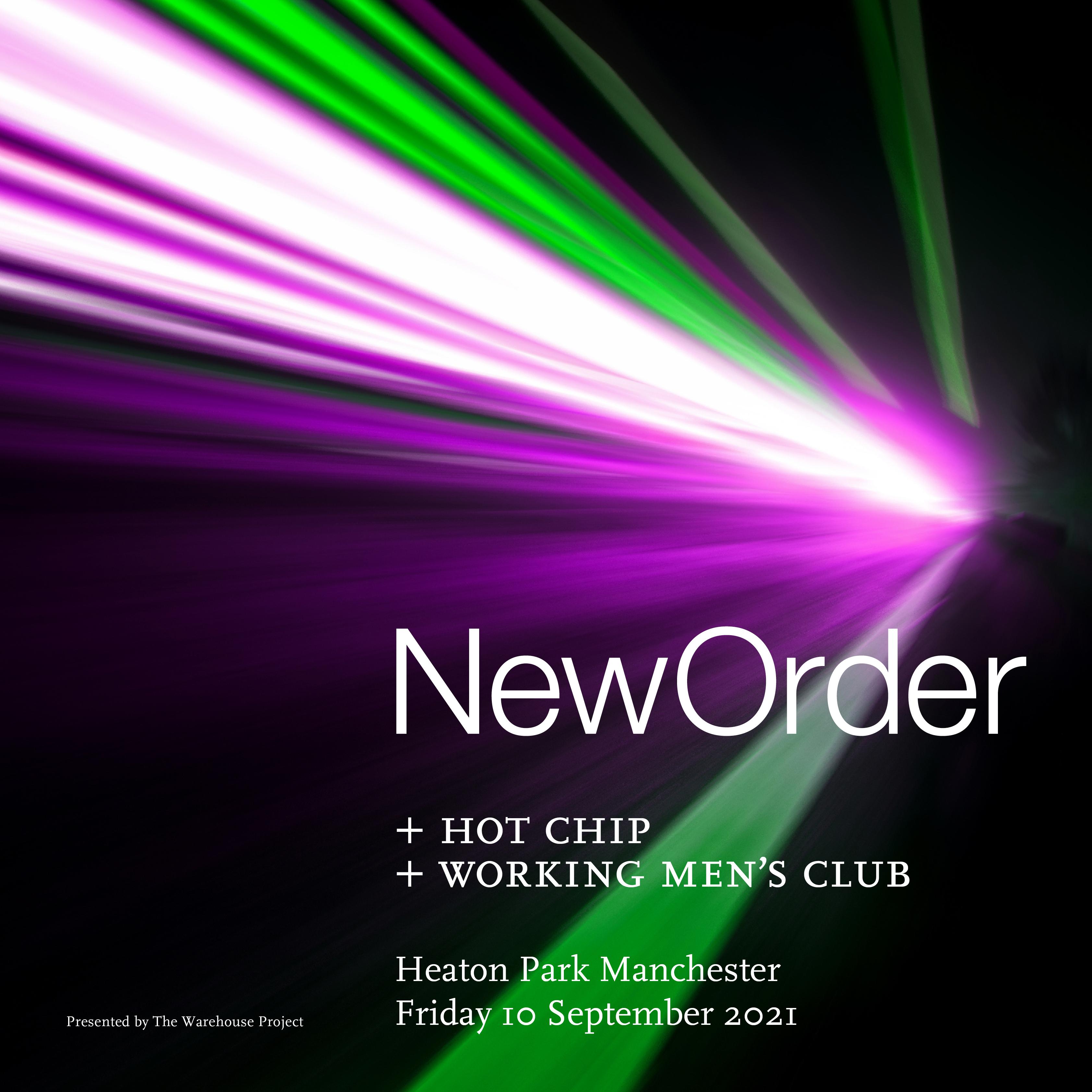 New Order at Heaton Park