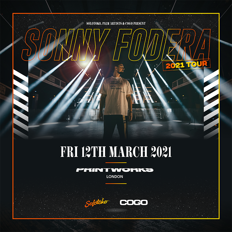 Sonny Fodera - 2021 UK Tour